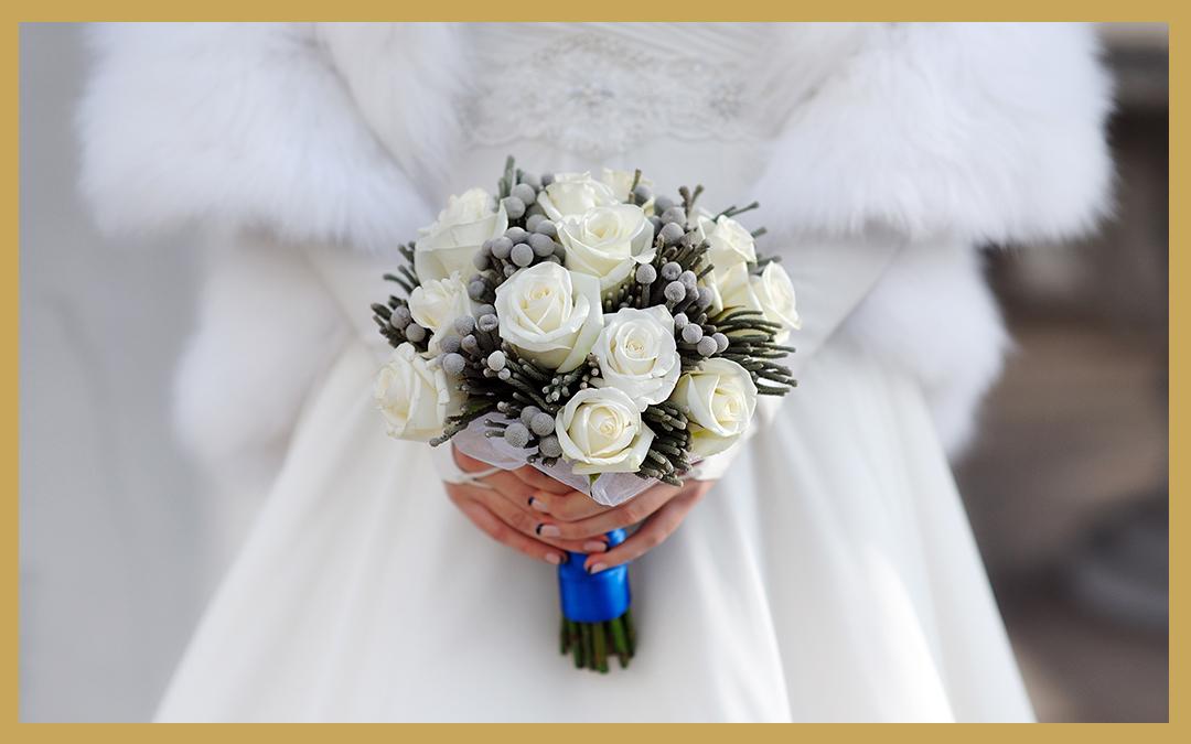 Un mariage de rêve en hiver